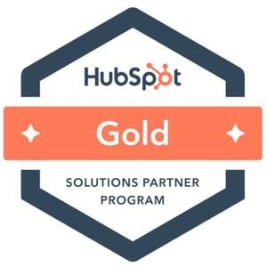 HubSpot Solutions Partner Gold