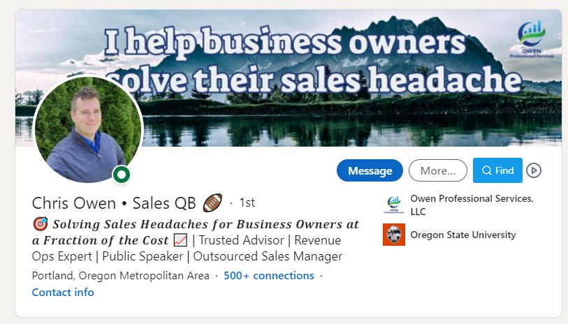 Chris Owen Sales QB